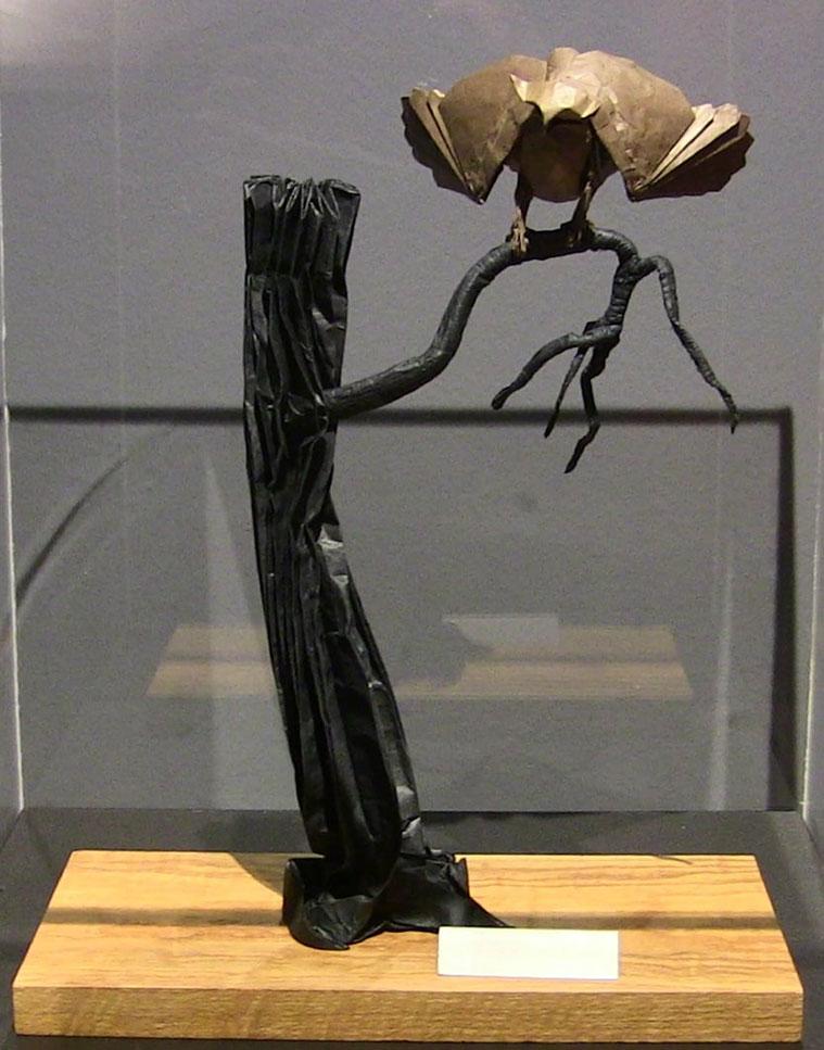 Buho de Goya de Berny Peyton, un modelo para remomorar el 275 aniversario del nacimiento de Goya