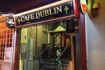 Café Dublin Calle Juan Porcell Zaragoza