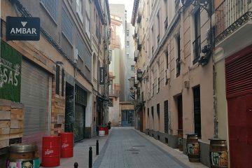 Calle Blasón Aragonés en el Tubo de Zaragoza