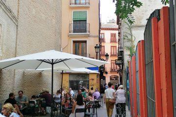 Calle Mártires del Tubo de Zaragoza