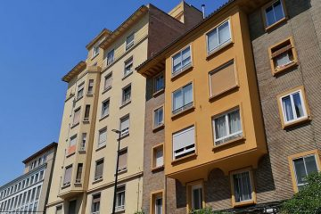 Calle Cortes de Aragón de Zaragoza