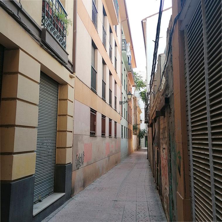 Calle Mateo Flandro Zaragoza
