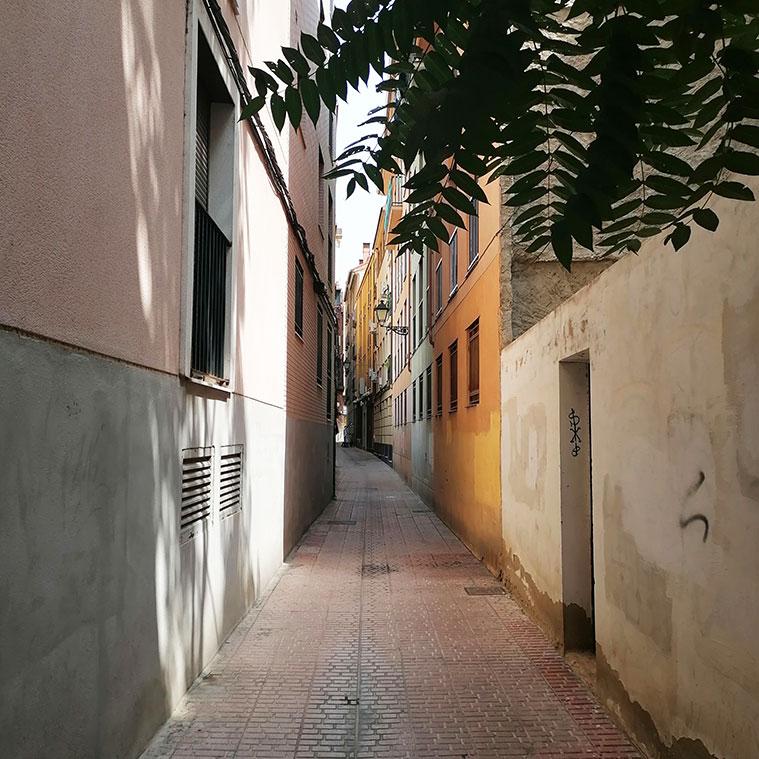 Vista de la Calle Mateo Flandro