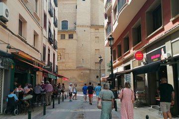 Calle Ossau del Tubo de Zaragoza