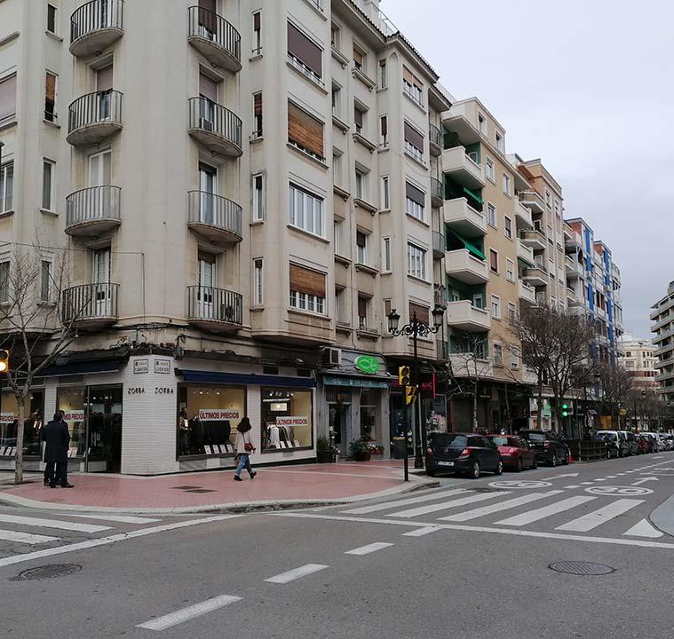 Calle Pedro Maria Ric de Zaragoza
