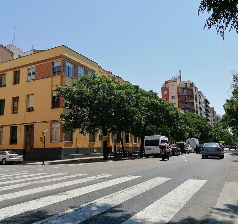 Edificio Cervantes de la Universidad de Zaragoza