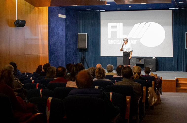 Filmoteca de Zaragoza en la Casa de los Morlanes