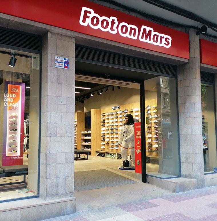 Foot on Mars en Zaragoza
