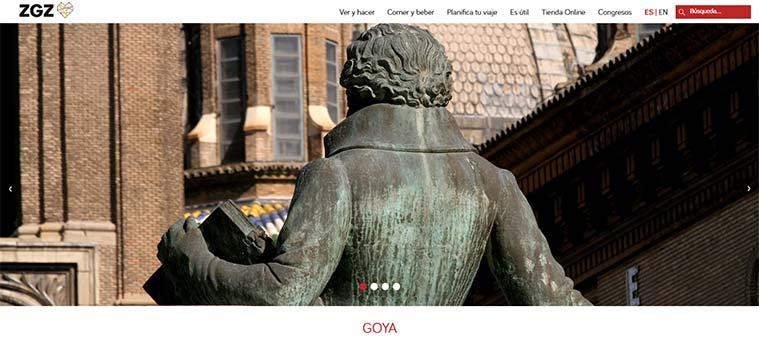 La nueva web de Zaragoza Turismo permite al turista planificar su visita a la ciudad
