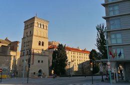 Puerta de San Ildefonso en Zaragoza