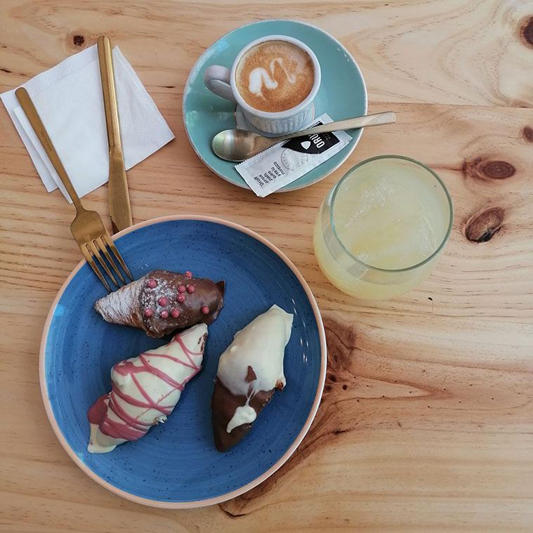 café y tartitas en Le Cocó Café