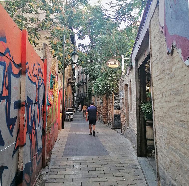 calle estebanes en el tubo de zaragoza