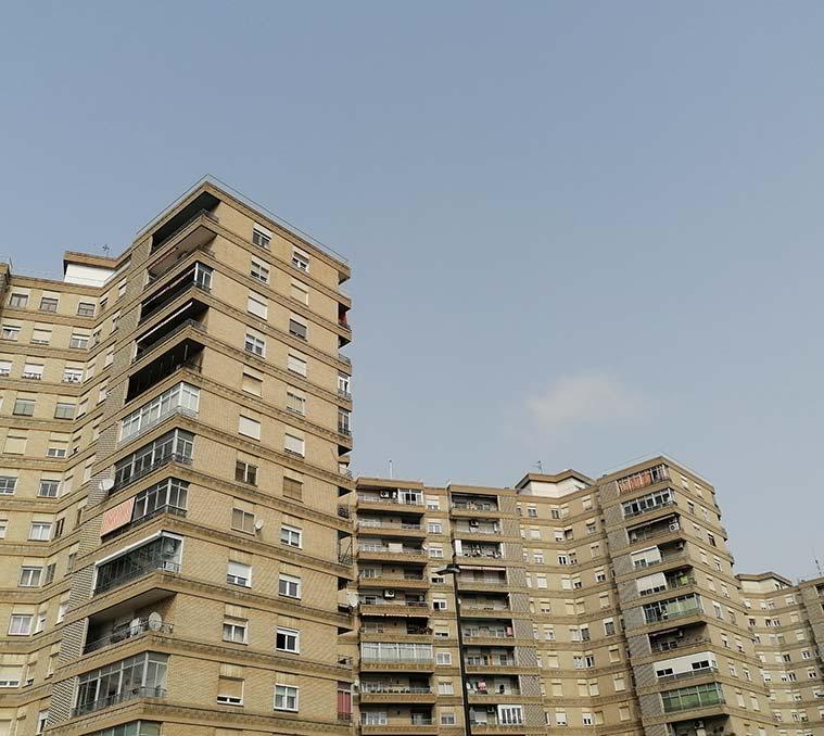 Edificio Kasan de Zaragoza