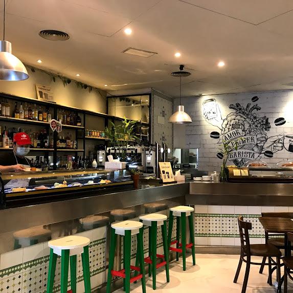 interior del restaurante chino Casa Pan comida china casera