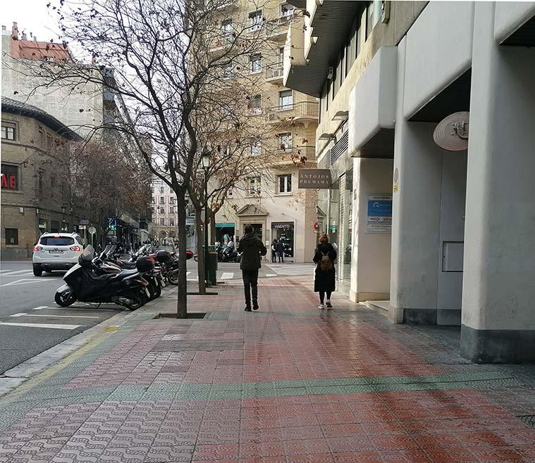 Calle Sanclemente de Zaragoza