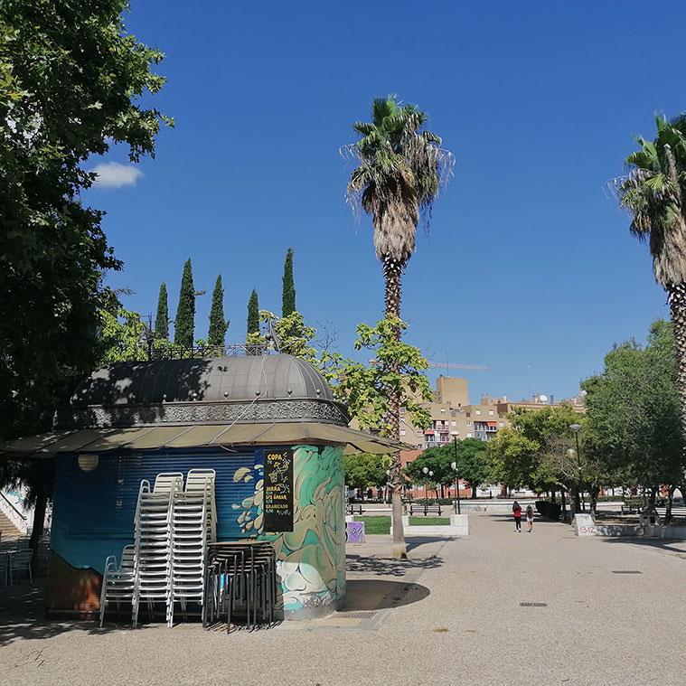 Quioscos y terrazas en la Plaza Mayor