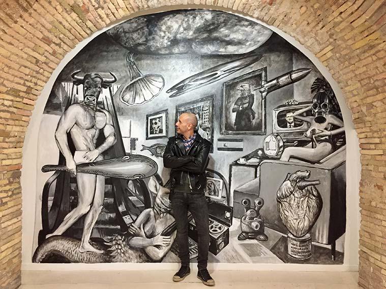 Sergio Sevilla desarrolla proyectos artísticos de comisariado en el espacio Córner MIZ de Zaragoza Activa (Ayuntamiento de Zaragoza)