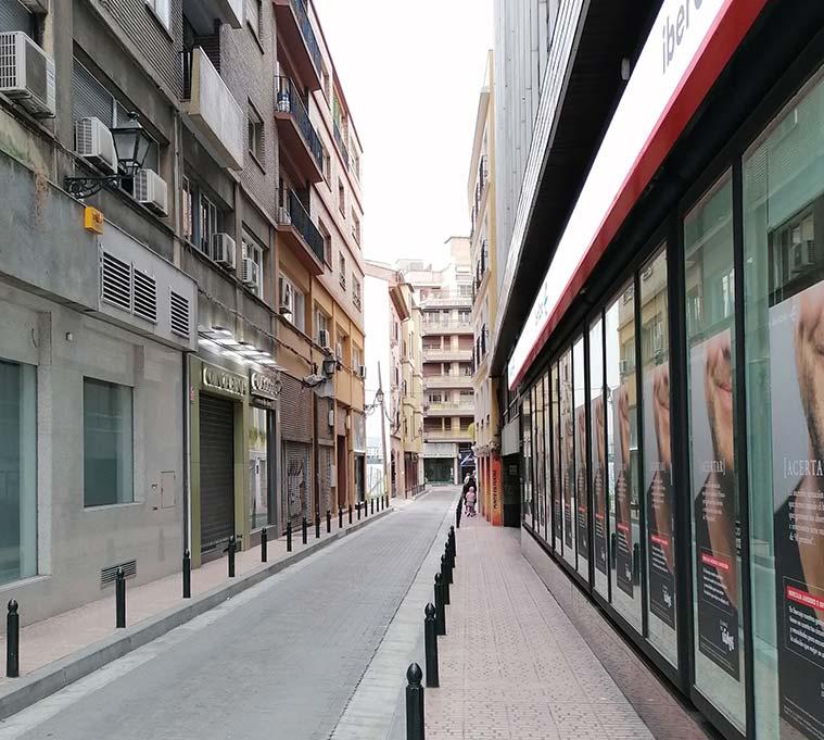 Calle Hermanos Ibarra de Zaragoza