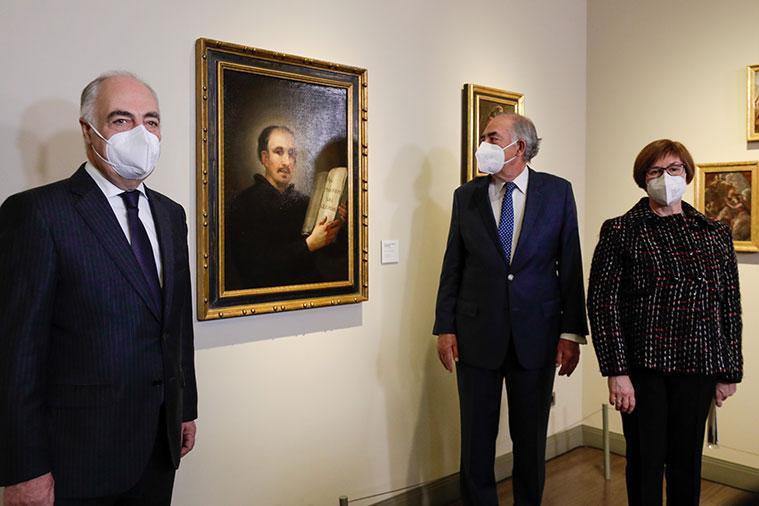 El Museo Goya de Zaragoza incorpora la obra 'San Ignacio de Loyola' de Francisco de Goya