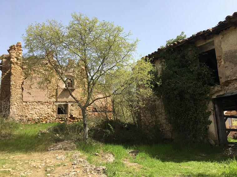el pueblo abandonado de Finestras