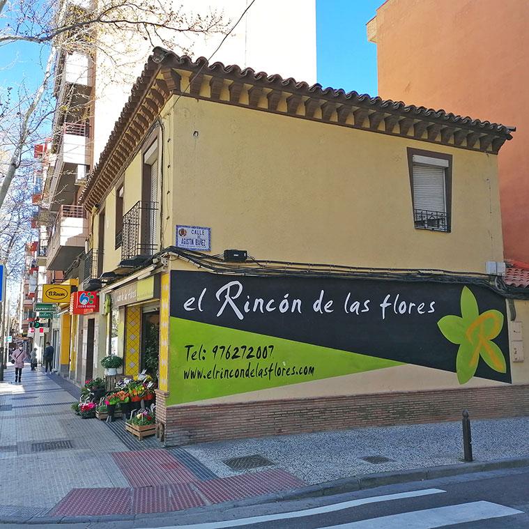 El Rincón de las Flores en la avenida america de Zaragoza