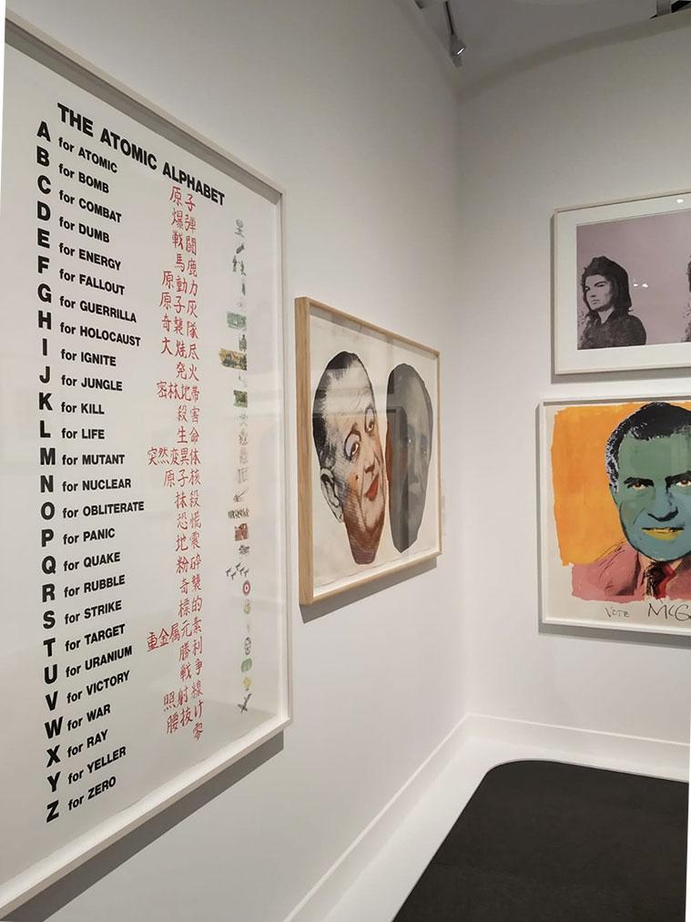 Exposición 'El sueño americano Del pop a la actualidad' en CaixaForum Zaragoza