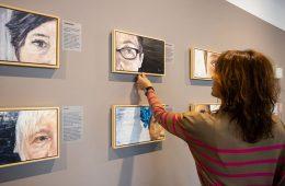 Exposición 'Mucho ojo' de Rosa Balaguer, en el Espacio Lienzo Abierto del Centro de Historias