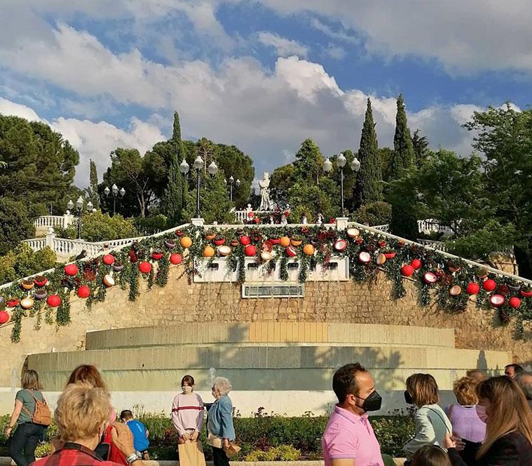 Festival Zaragoza Florece en el Parque Grande José Antonio Labordeta 2021