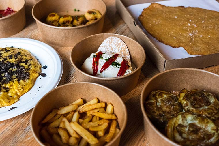 Ginger Fizz Bar, Gonzo Bitter Bar y Garbo Gentlebar: 3 restaurantes donde comerte el mundo a bocados (y que también puedes pedir a domicilio o recoger en local)