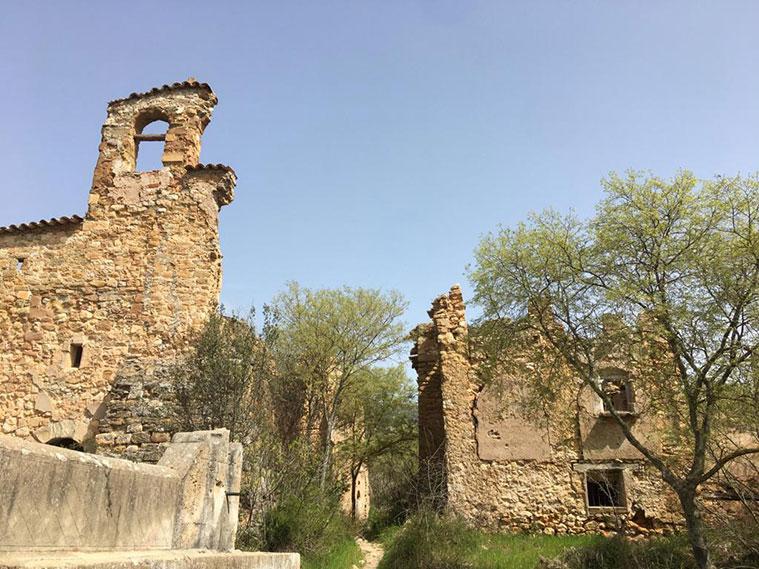 Pueblo abandonado de Finestras, muy cerca de la Muralla China de Finestras