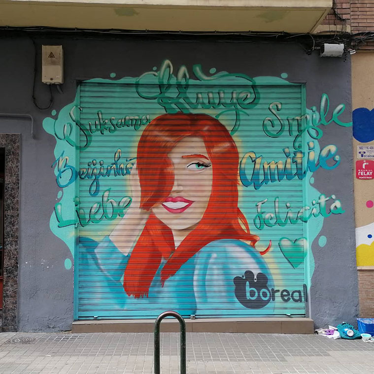 Retrato realista de Pedro Romero en la peluquería Boreal (número 52)