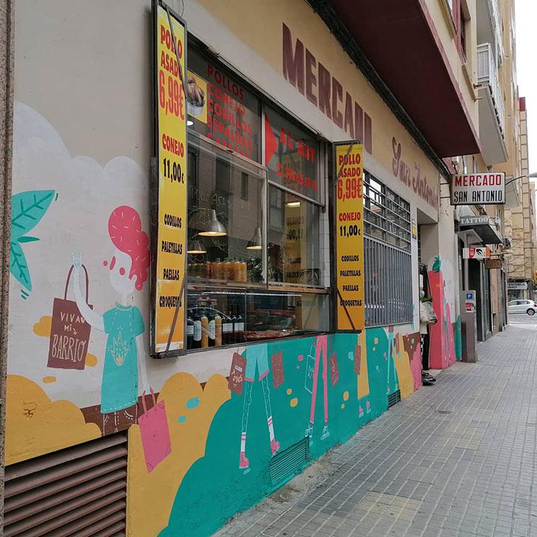 Calle San Antonio María Claret de Zaragoza