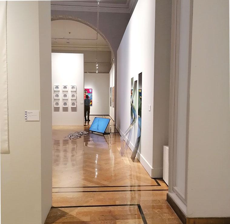 instalaciones artísticas y nuevas tecnologías en las obras del Premio Santa Isabel
