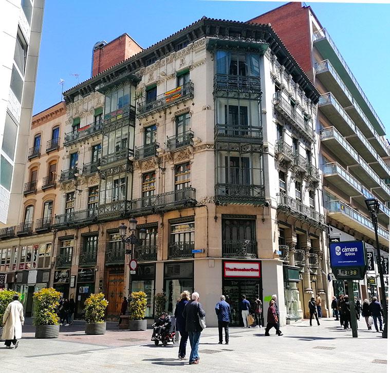Casa de Goya en Calle Alfonso I, 2