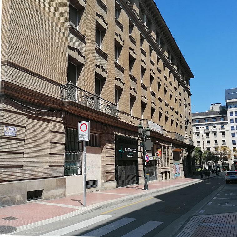 Casa de Goya en la Calle Morería Cerrada 12