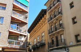 Casa de Goya en la Plaza San Pedro Nolasco 3-4