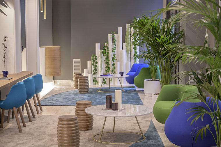 lobby del nuevo hotel boutique inca de zaragoza