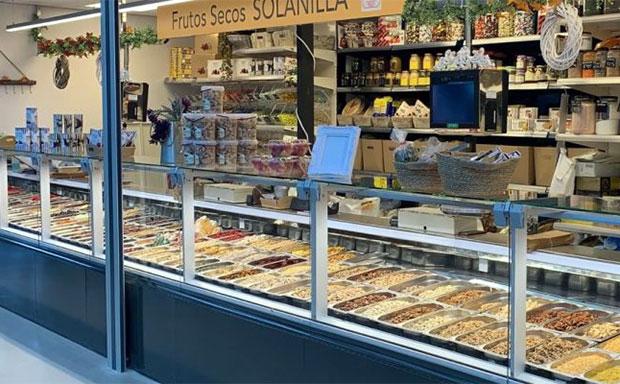 Frutos Secos Solanilla en Mercado Central de Zaragoza
