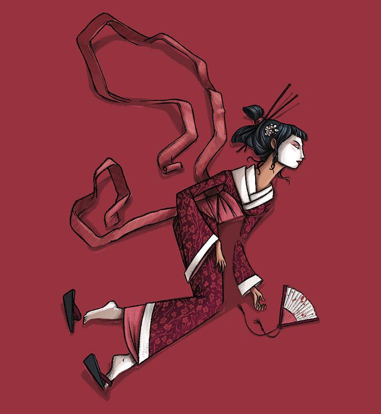 Ilustracion de David Guirao para uno de sus libros