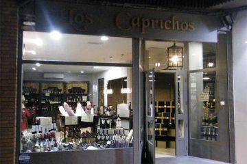 Los Caprichos del Portal tienda gourmet en la calle san lorenzo