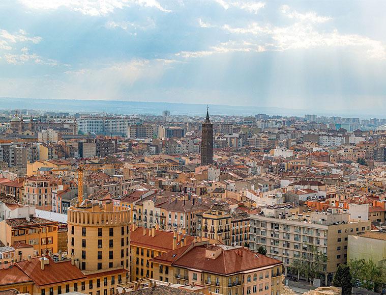 Los mejores miradores de Zaragoza para disfrutar de unas increíbles vistas de la ciudad