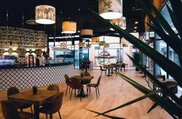 Restaurante Tatín en los Porches del Audiorama de Zaragoza