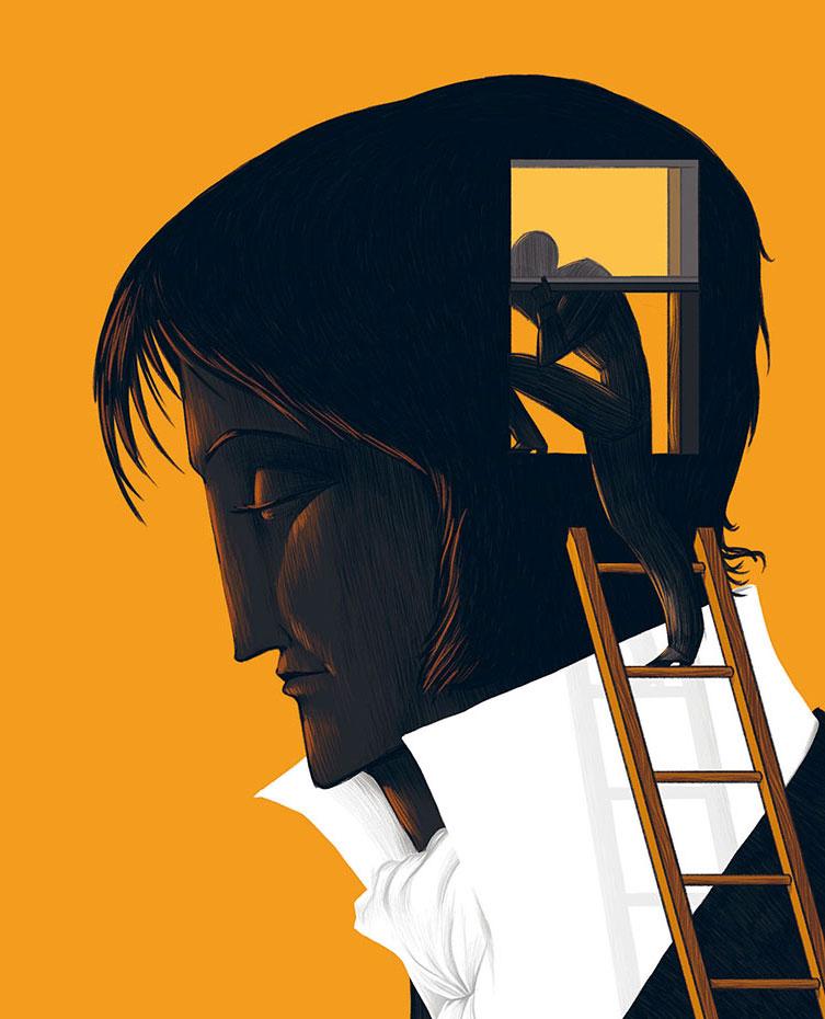 Sueños ilustracion de David Guirao
