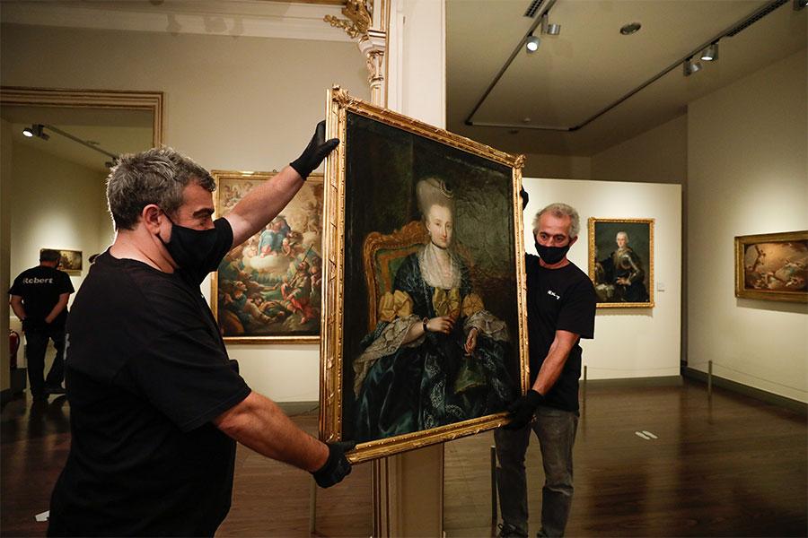 El Museo Goya incorpora dos obras inéditas de los hermanos Bayeu