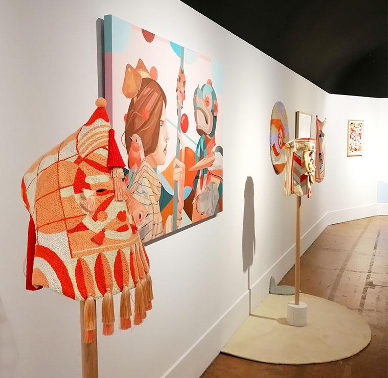 Exposición 'Un universo de dos' de Twee Muizen en el Centro de Historias