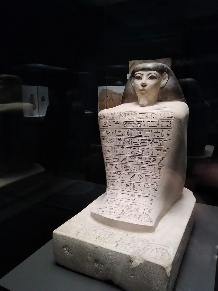 Faraón. Rey de Egipto', en CaixaForum Zaragoza