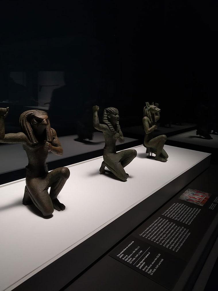 Muestra 'Faraón. Rey de Egipto', en CaixaForum Zaragoza