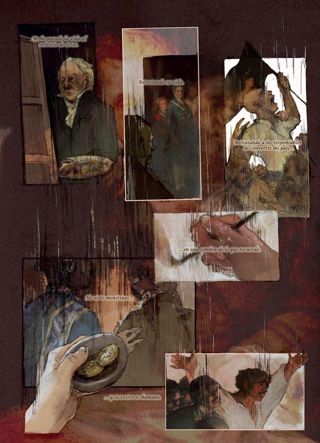 'El mundo negro de Goya', de Jorge Castrejón y Clara Quiroga
