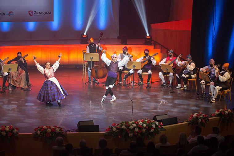 Certamen Oficial de Jota Aragonesa en la Sala Mozart del Auditorio de Zaragoza
