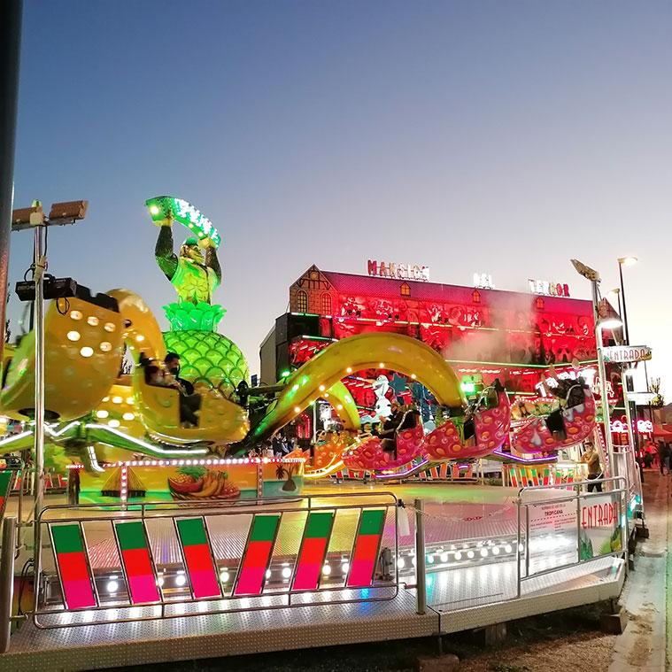 Las Ferias, el Circo Mystique, un tobogán, tirolinas... en el Parque de ocio familiar del Recinto Valdespartera del Pilar